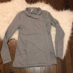 Lululemon  grey cardigan sweatshirt size 6